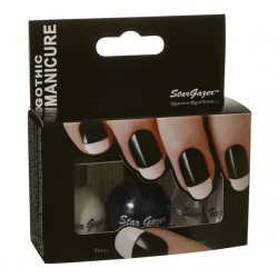 Pack gothic manicure