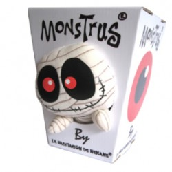 Muñeco box monstrus recycled paper mummy