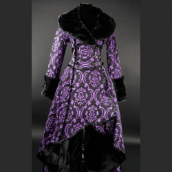 Abrigo purple evil queen
