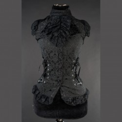 Blusa brocade laced