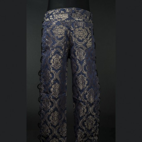Pantalones blue royal ajustables
