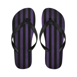 Sandalias unisex tira en V purple stripes