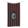 Toalla baño skull red stripes