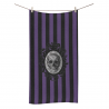 Toalla baño skull purple stripes