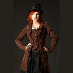 Abrigo pirate steampunk