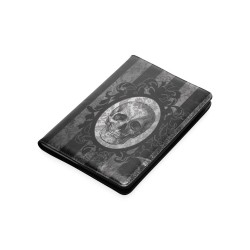Notebook + portanotebook cameo skull red stripes