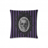 Cojin cameo skull purple stripes